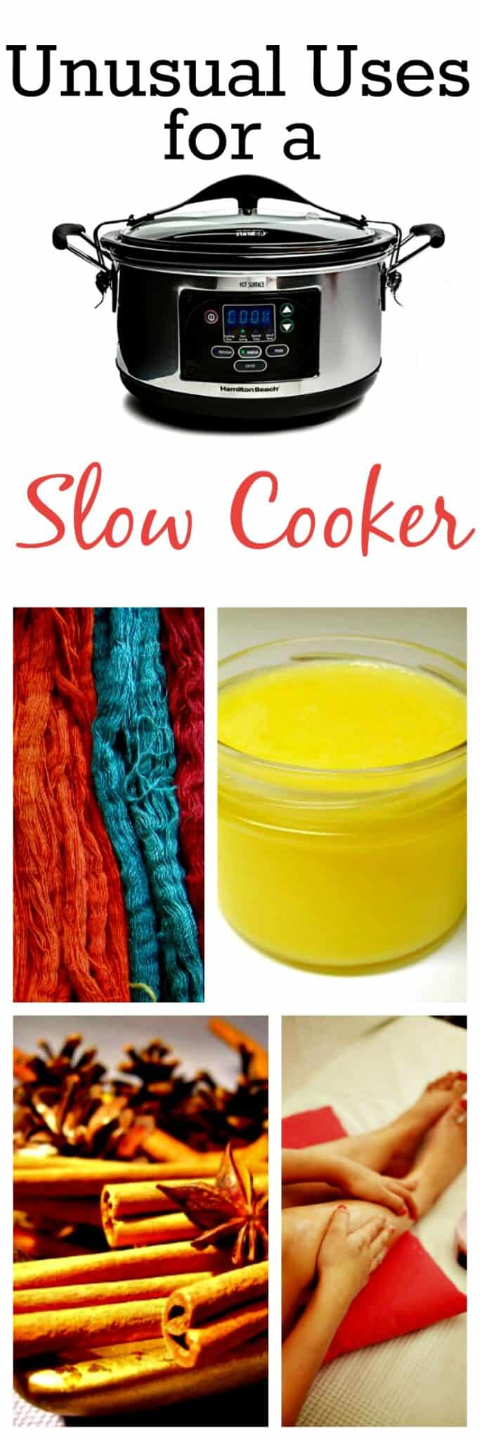 Pin Unusual Uses for a Slow Cooker