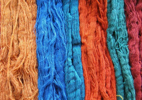 Unusual uses for a slow cooker - Dye fabrics and yarn