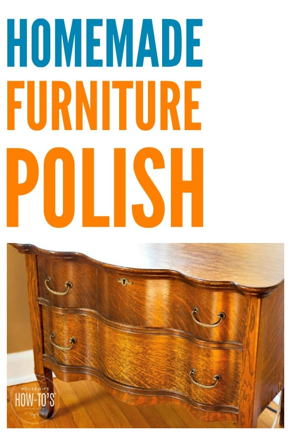 Homemade furniture polish spray clean and shine for pennies for Homemade wooden furniture polish