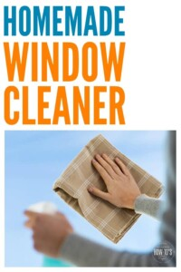 Homemade Window Cleaner - This easy and inexpensive DIY cleaner leaves my windows spotless and streak-free #windowcleaning #homemadecleaner #diycleaningrecipe #cleaning #deepcleaning #springcleaning #homemaking