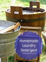 Homemade Laundry detergent from HousewifeHowTos.com