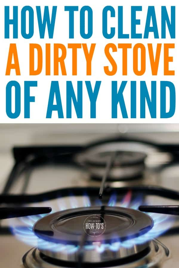 How to Clean a Dirty Stove - Get rid of stains and get burners working like
