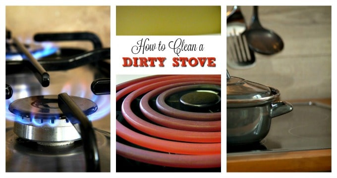 How to Clean a Dirty Stove Naturally