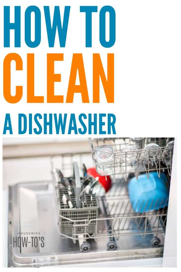 How to Clean a Dishwasher - They really do build up mold and fungus plus other bacteria. This gets them clean and working like new