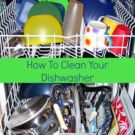 How to clean a dishwasher from HousewifeHowTos.com