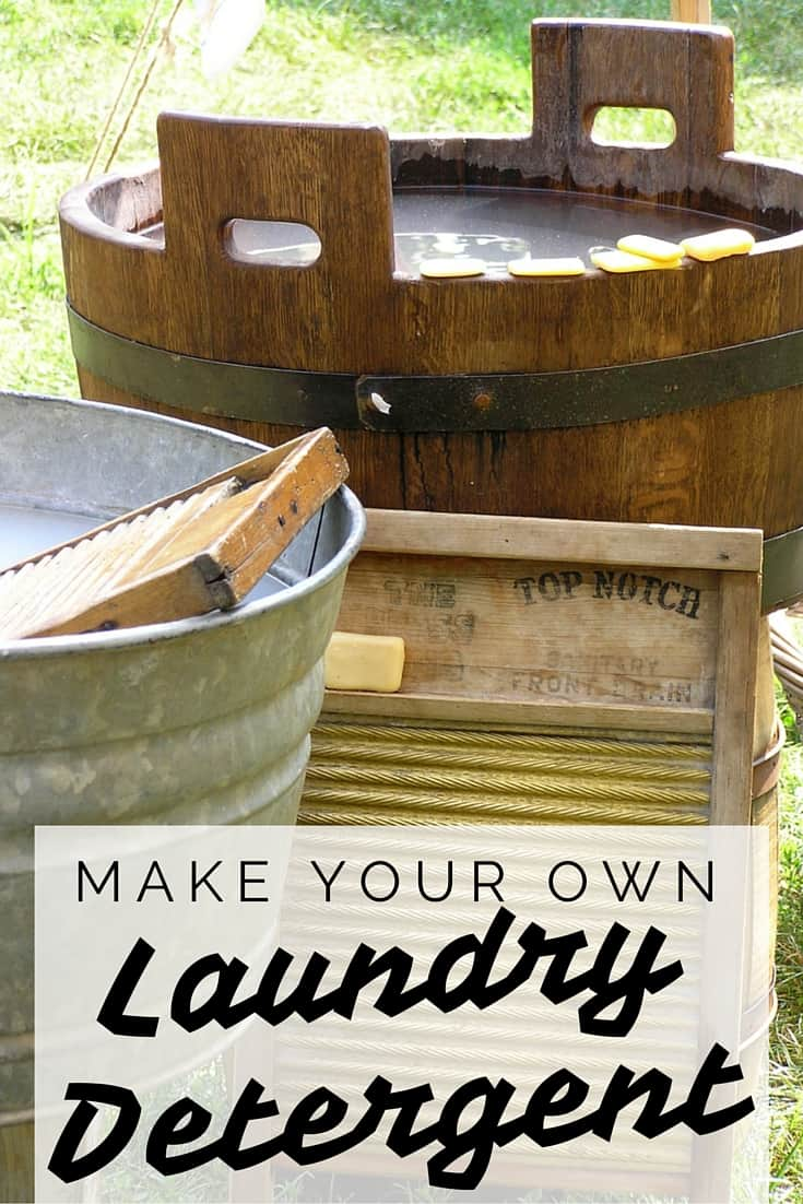 Homemade Laundry Detergent Recipe | Why pay for a detergent full of mystery ingredients and added water? You can make your own laundry detergent using three ingredients, and it's cheap. | laundry hacks | frugal | money-saving |