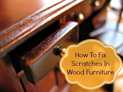 How To Fix Scratches In Wood from HousewifeHowTos.com