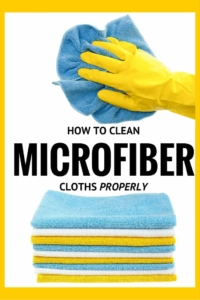 How to clean microfiber cloths - I never understood why mine were wearing out so quickly but now I know!