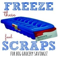 How to freeze kitchen scraps from HousewifeHowTos.com