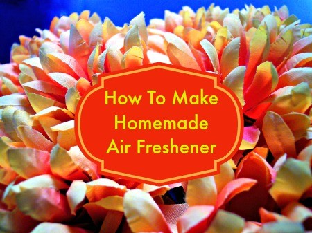 How to make homemade air freshener from HousewifeHowTos.com