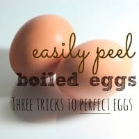 How To Peel Hard Boiled Eggs Easily