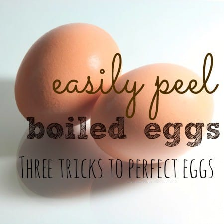 How to peel hard boiled eggs from HousewifeHowTos.com