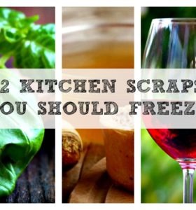 Kitchen Scraps To Freeze - Share this on Facebook
