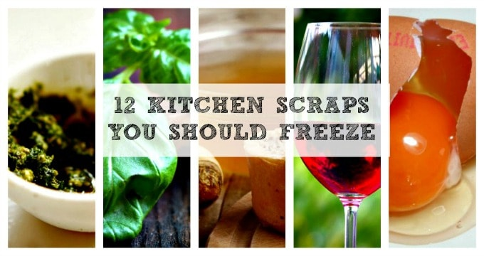 Kitchen Scraps To Freeze