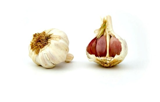 Kitchen scraps to freeze - Roasted garlic