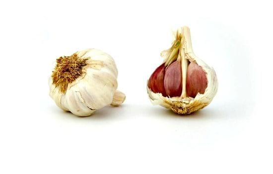 Kitchen scraps to freeze - Roasted garlic