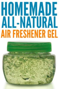 Homemade Air Freshener Gel - Easy all-natural recipe to freshen your home #airfreshener #homefragrance #housewifehowtos #odorcontrol #cleaning