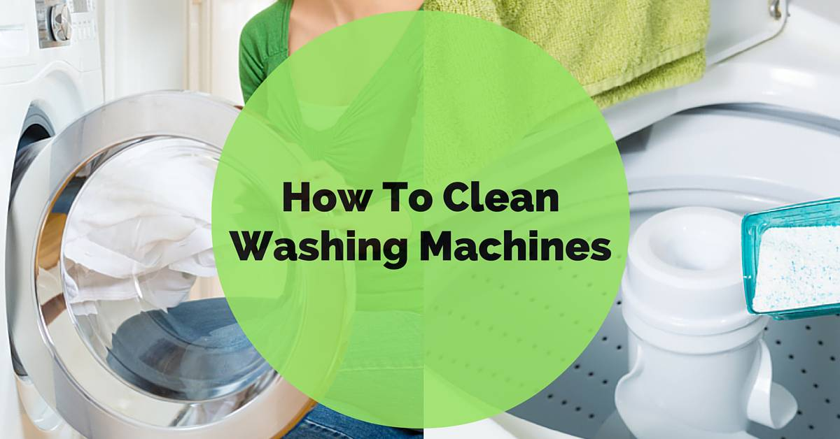how to clean washing machine