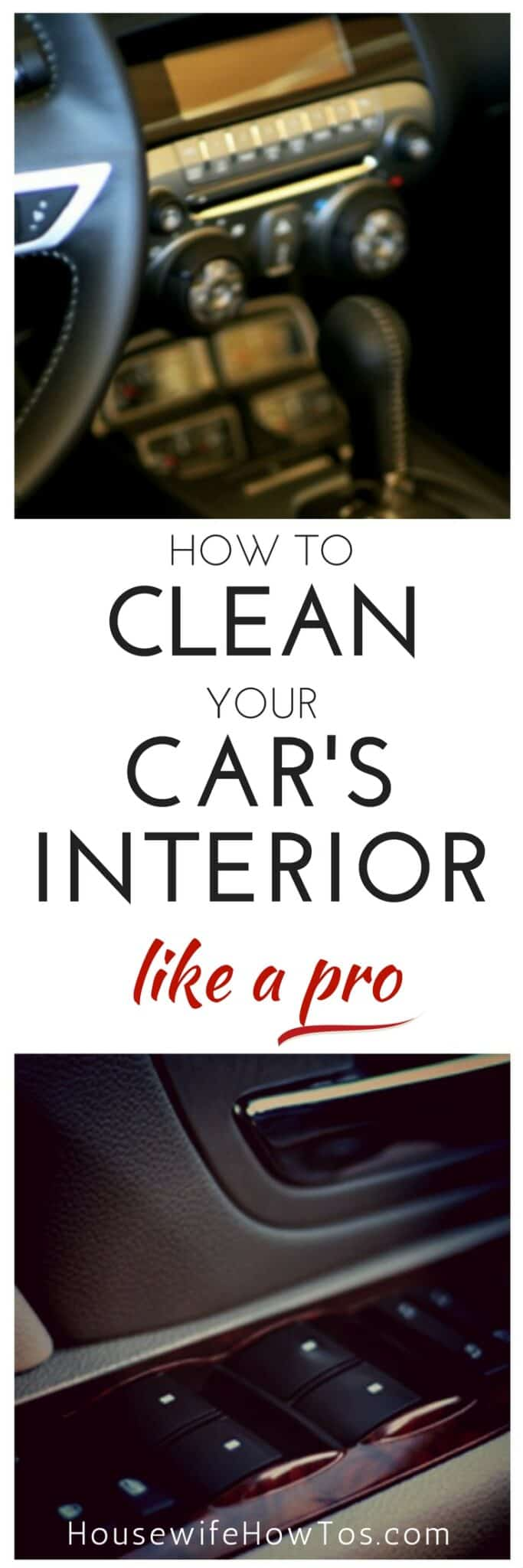 How To Clean Your Car's Interior Like A Pro | Get a spotless car without spending a fortune. #cleaningroutine #cleaninghacks