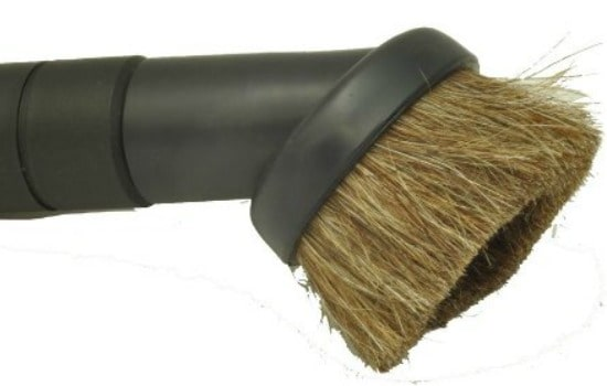 How To Clean Your Car's Interior - Use the dust brush on hard surfaces