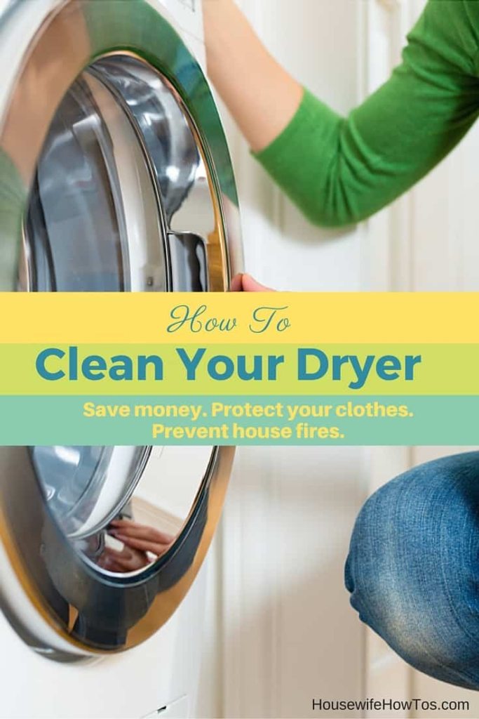 How To Clean Your Clothes Dryer Properly Inside And Out