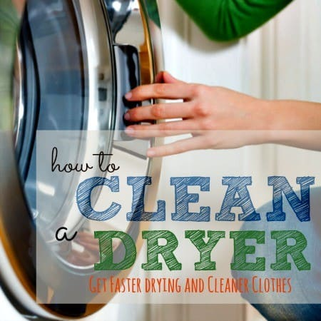 How to clean your clothes dryer from HousewifeHowTos.com