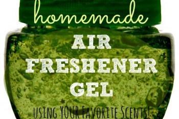 How To Make Homemade Air Freshener Gel