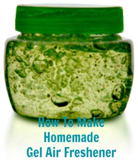 How to make homemade gel air freshener from HousewifeHowTos.com