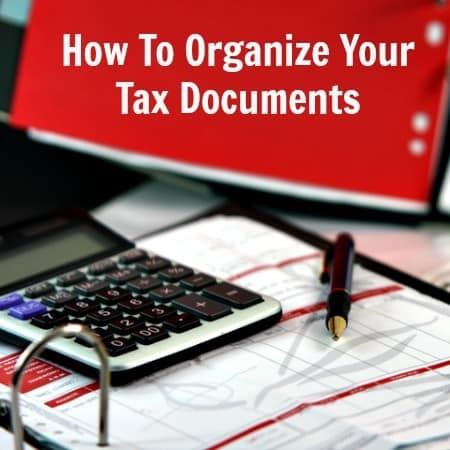 How to organize tax documents from HousewifeHowTos.com