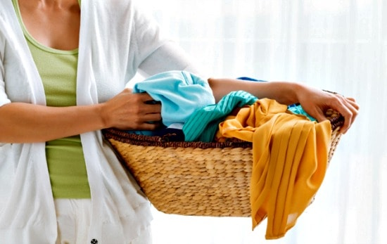Bedroom Spring Cleaning Checklist - Launder the linens