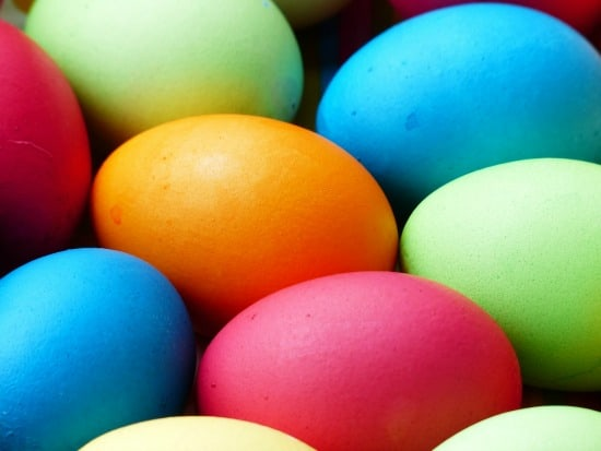 How To Naturally Dye Easter Eggs - Get brilliant colors by leaving them in dye for two days