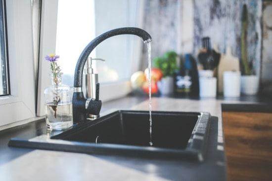 Kitchen Spring Cleaning Checklist - Start with an empty sink