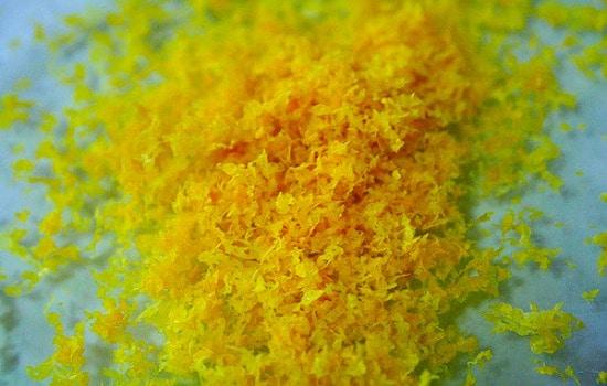 Kitchen scraps you can reuse - citrus zest