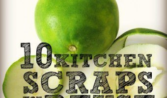 10 Kitchen Scraps You Can Reuse