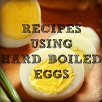 Recipes using hard boiled eggs from HousewifeHowTos.com
