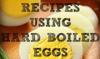 Recipes Using Hard Boiled Eggs