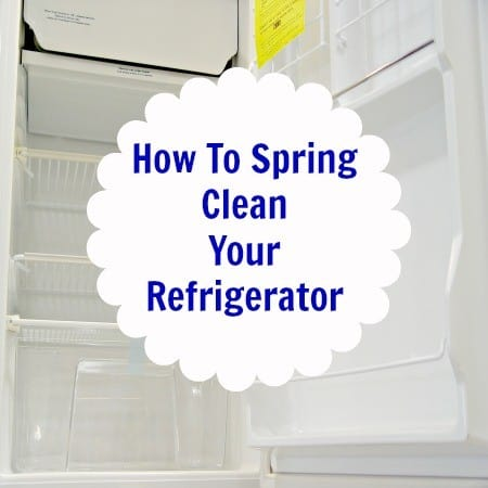 Spring Clean Refrigerator from HousewifeHowTos