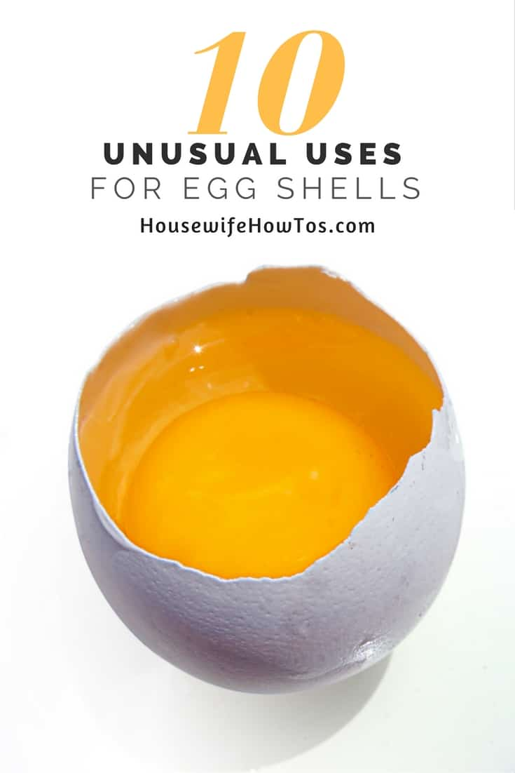 Unusual uses for egg shells| You'll love all these ways to use egg shells around the home or in the garden. They'll even help you get ready for your next party! #foodhacks #recycling #eggshells