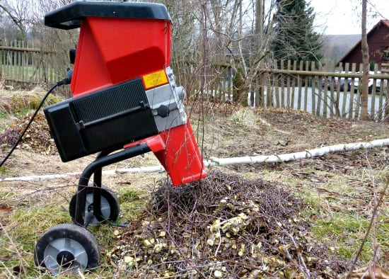 Where to get free mulch for your garden - Rent or borrow a wood chipper