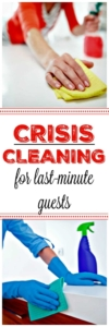 PIN Crisis Cleaning For Last-Minute Guests