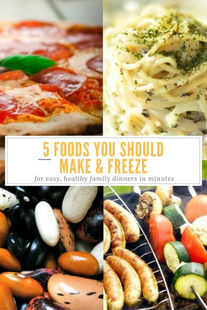 Foods You Should Make Ahead And Freeze - Great shortcuts to delicious dinners | via HousewifeHowTos.com