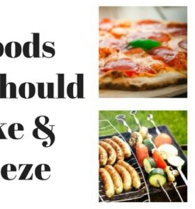 5 Foods You Should Make And Freeze
