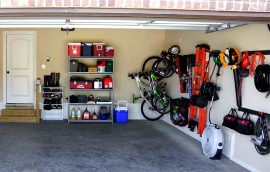 Garage Cleaning Checklist - Determine the zones
