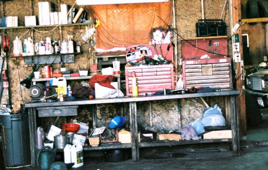 Garage Cleaning Checklist - Gather your cleaning materials and empty the garage