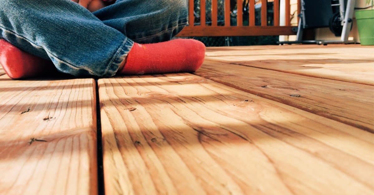 How To Clean A Deck No Special Equipment Required