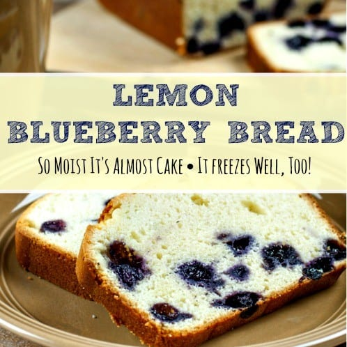 How to make lemon blueberry bread from HousewifeHowTos.com