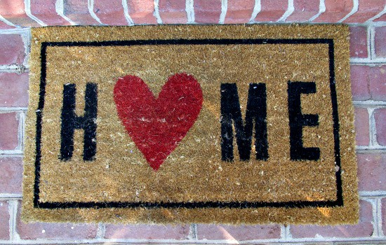 How to reduce dust in your home - Keep mats at all entrances to your home