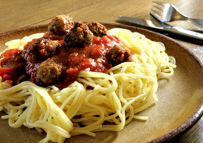 Meals Using Meatballs - Spaghetti and Meatballs