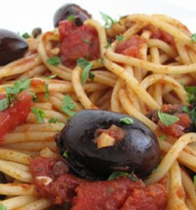 Pasta Puttanesca Recipe