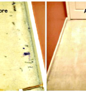 FB Share How to get dried paint out of carpet from HousewifeHowTos